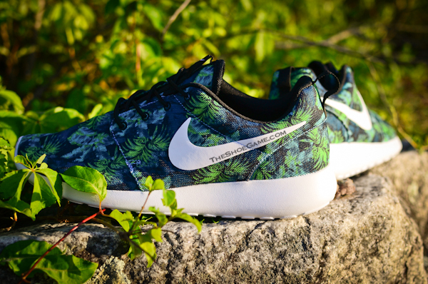 Nike Roshe Run Palm Trees Poison Green (7)