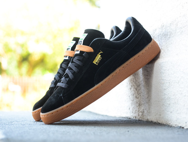 puma suede winter noir