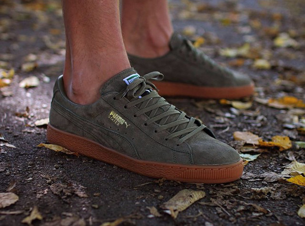 Puma States Winter Gum Burnt Olive (8)