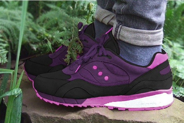 Saucony Shadow 6000 'purple bubblegum'