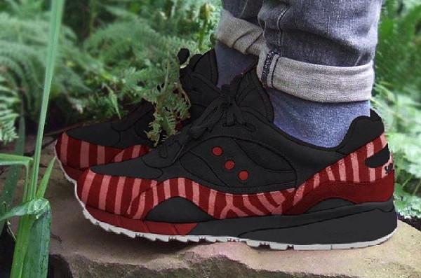 Saucony Shadow 6000 'red zebra'