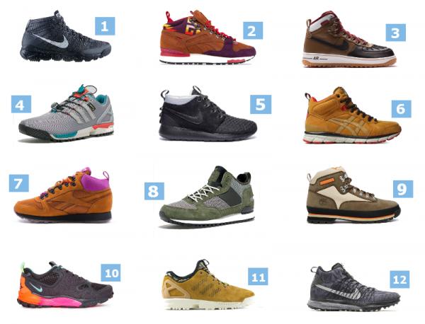 Automne 2014 : 12 sneakers à ne pas manquer