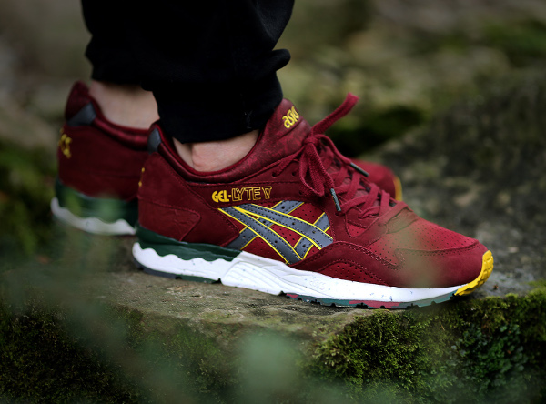 asics gel lyte 5 x the good will out koyo aux pieds (3)