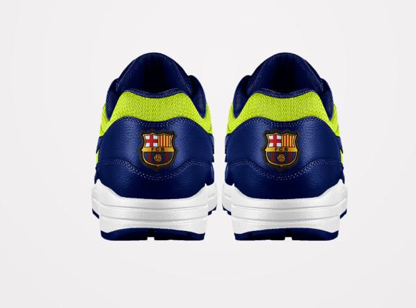 Nike Id Air 1 Barcelona Max Fc Fl1JKTc