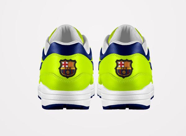 Nike ID 20 amp; Barcelone Air modèles 1 PSG Max FC qgASqwZ