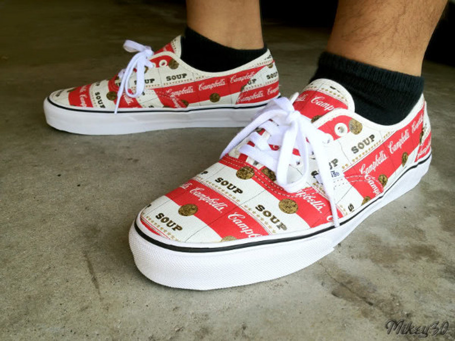 3-Vans Authentic x Supreme Soup Campell - Mikey30