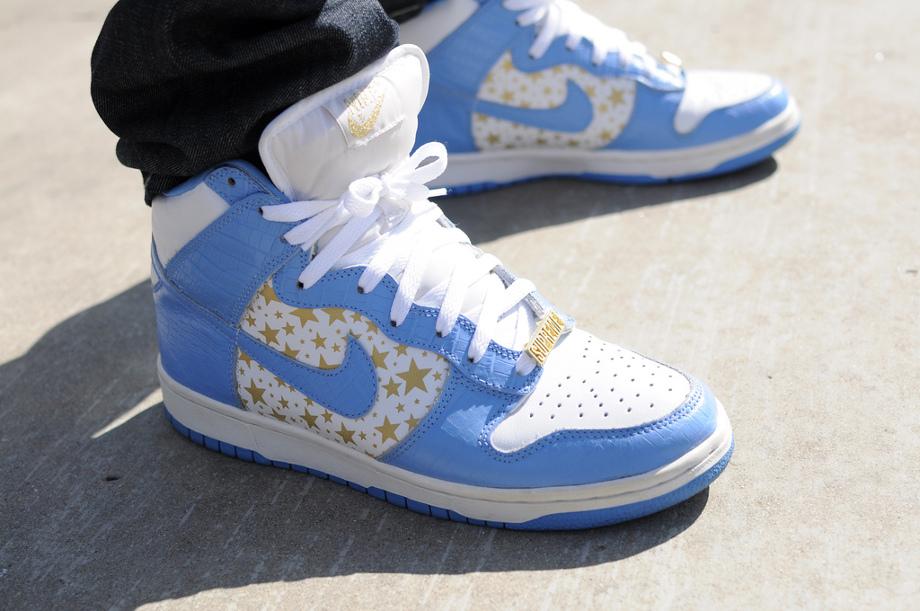 4-Nike Dunk High SB x Supreme - Christopher Robert Alba