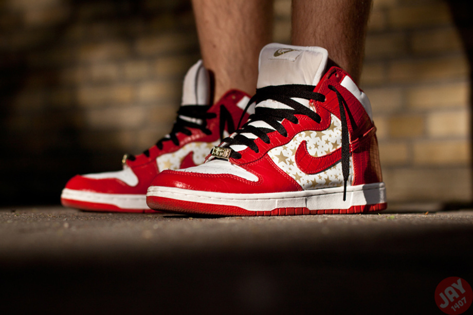 4-Nike Dunk High SB x Supreme - Jay1407
