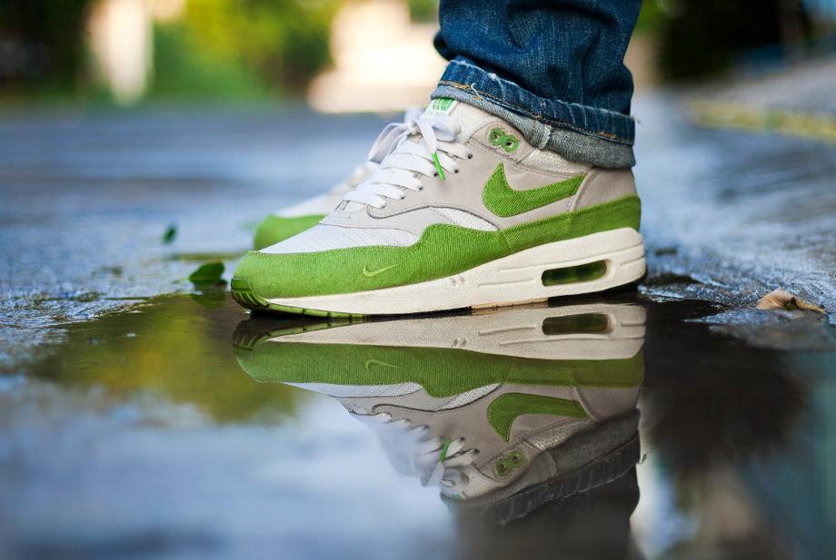 5-Nike Air Max 1 x Patta 'Chlorophyll' - Msgt16