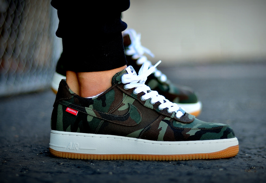 7-Nike Air Force 1 Low x Supreme Camo - Mohy_23 (2)