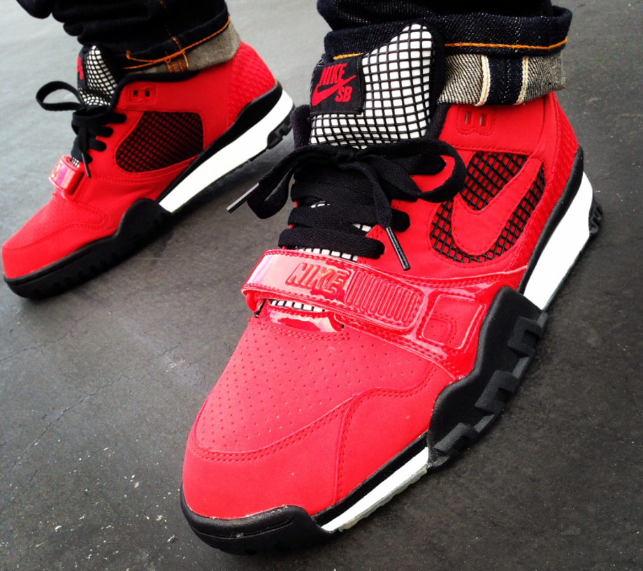 8-Nike Air Trainer SB 2 x Supreme - YoungSk8