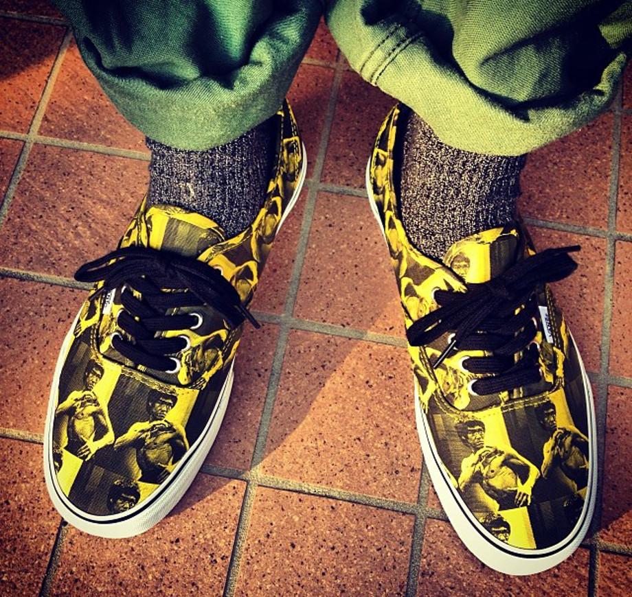9-Vans Authentic x Supreme Bruce Lee - Burger_junk