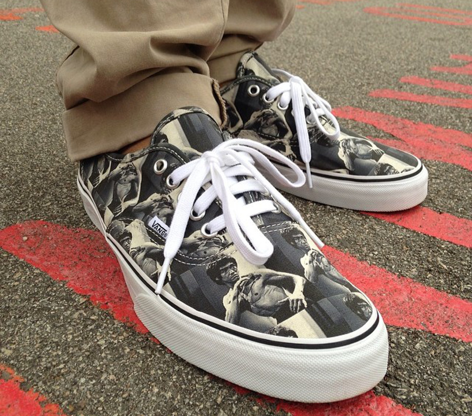 9-Vans Authentic x Supreme Bruce Lee - Cacal