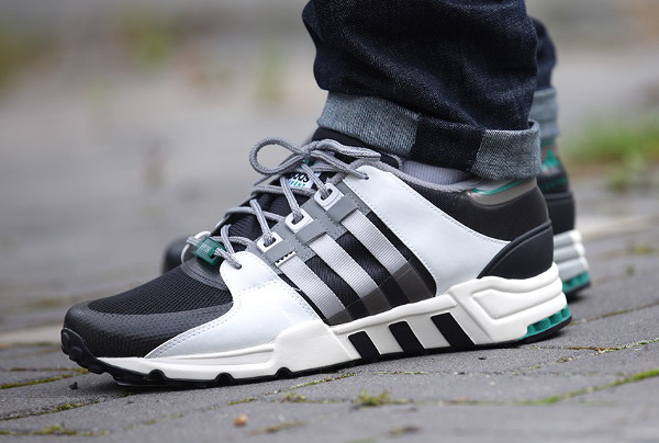 Adidas Equipment Support 93 (Core Black Light Solid Grey) (1)