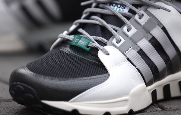 Adidas Equipment Support 93 (Core Black Light Solid Grey) (2)
