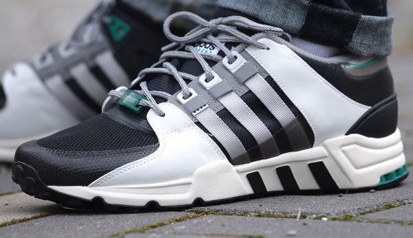 Adidas Equipment Support 93 (Core Black Light Solid Grey) (3)