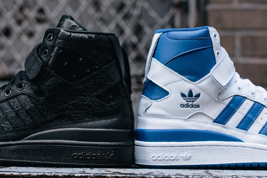 Adidas Original Forum Hi 'OG & 'Black Ostrich'-1