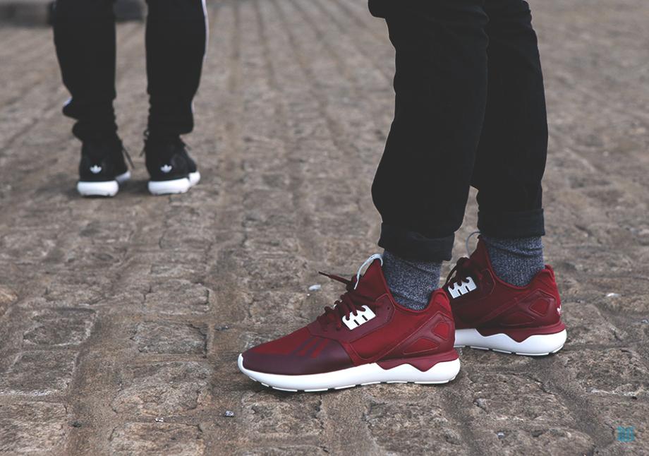 Adidas Originals Tubular Burgundy (1)