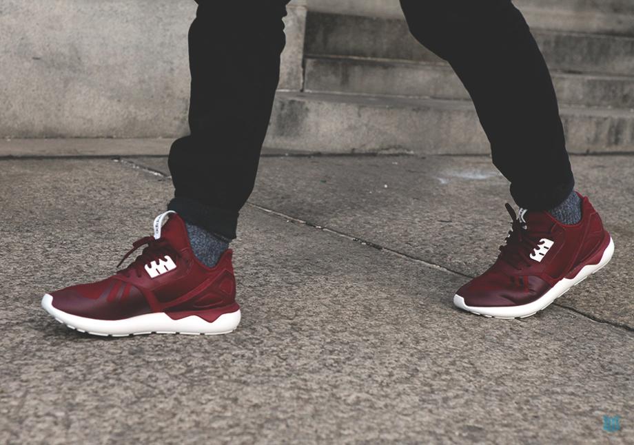 Adidas Originals Tubular Burgundy (3)