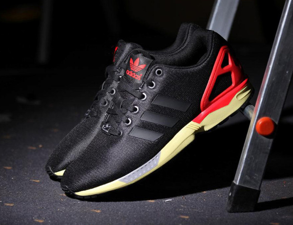 Adidas Originals ZX Flux (Core Black/Red)