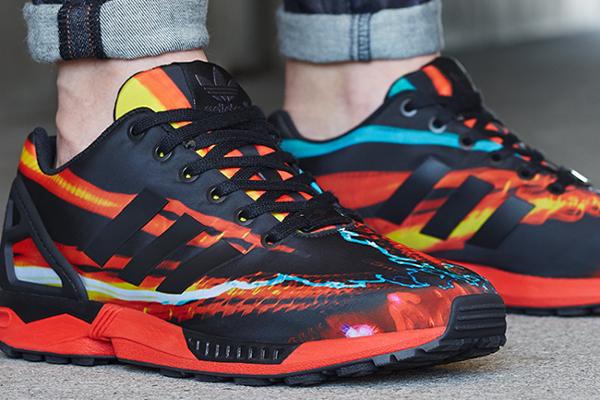 Adidas ZX Flux 'Blurred Lights'