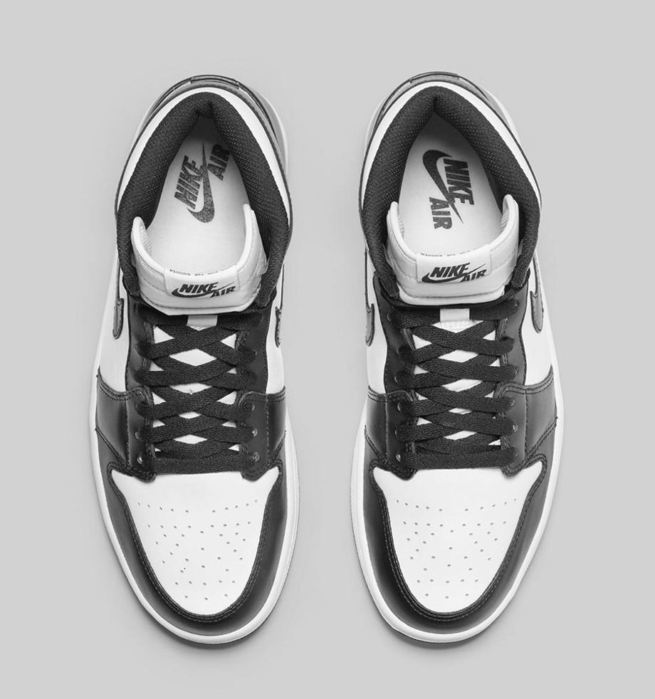 Air Jordan 1 High OG 1985 Black White (Retro 2014) (0)