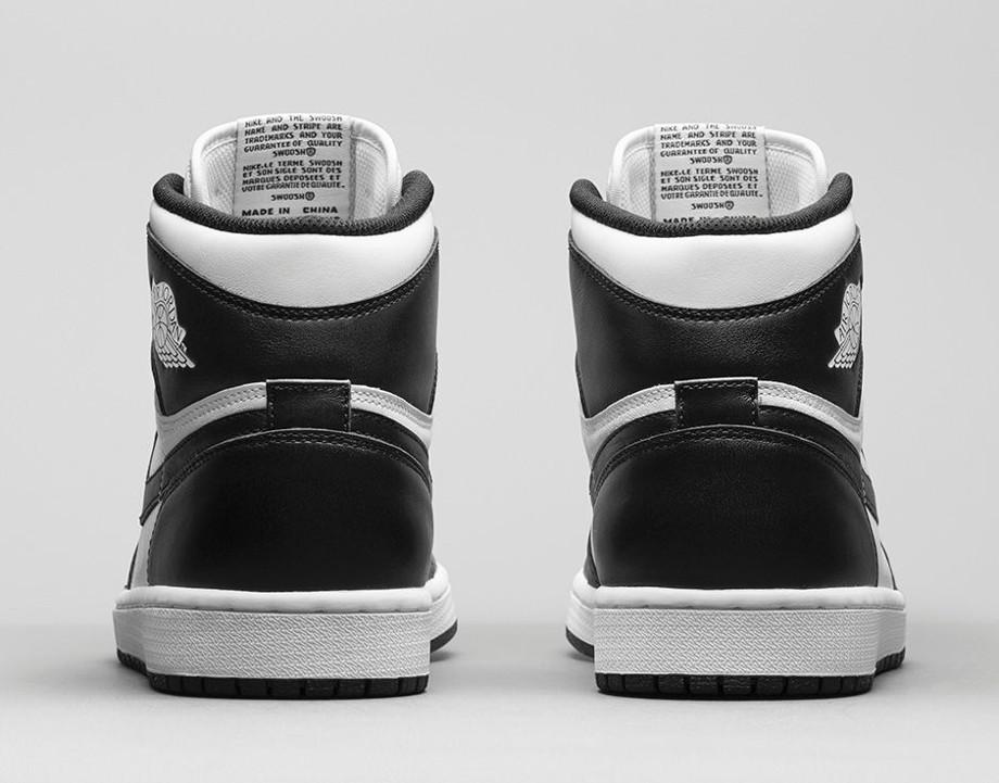 Air Jordan 1 High OG 1985 Black White (Retro 2014)  (6)