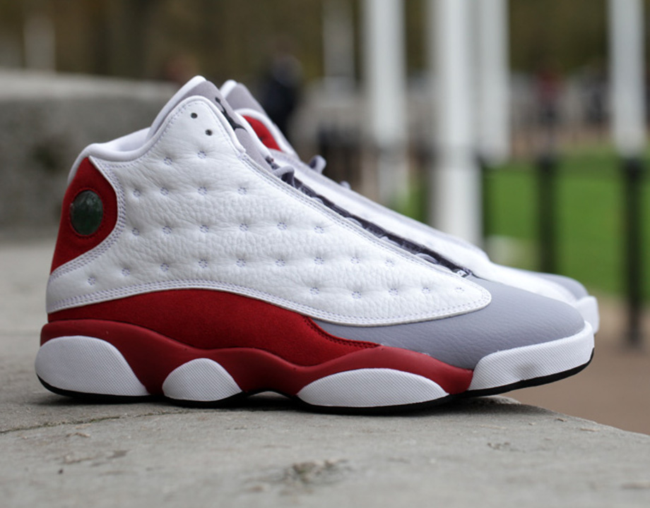 Air Jordan 13 Grey Toe
