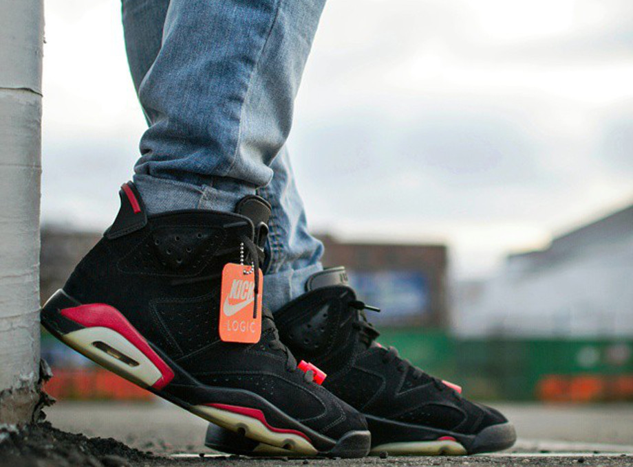 Air Jordan 6 Black Infrared - Kick_logic