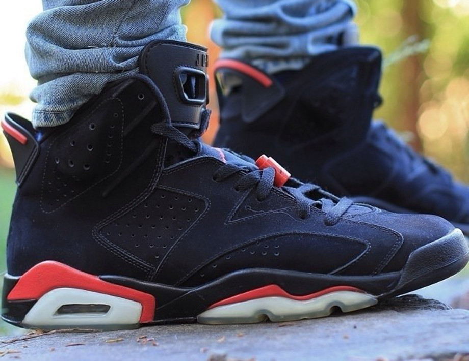 Air Jordan 6 Black Infrared - Kyronte23