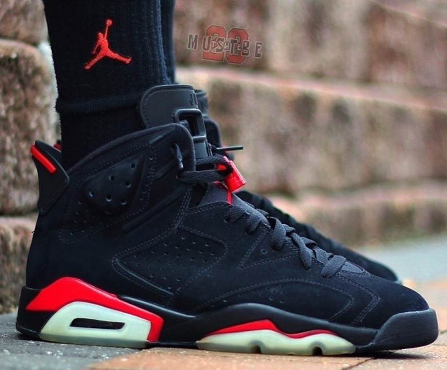 Air Jordan 6 Black Infrared - Mustbethe23