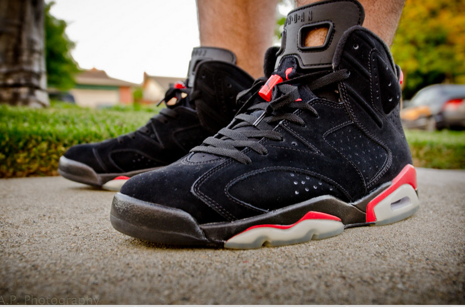 Air Jordan 6 Black Infrared - TheDooder