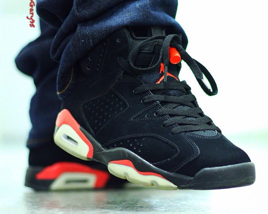 Air Jordan 6 Black Infrared - elogary95-1