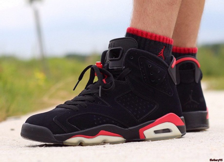Air Jordan 6 Black Infrared - elogary95