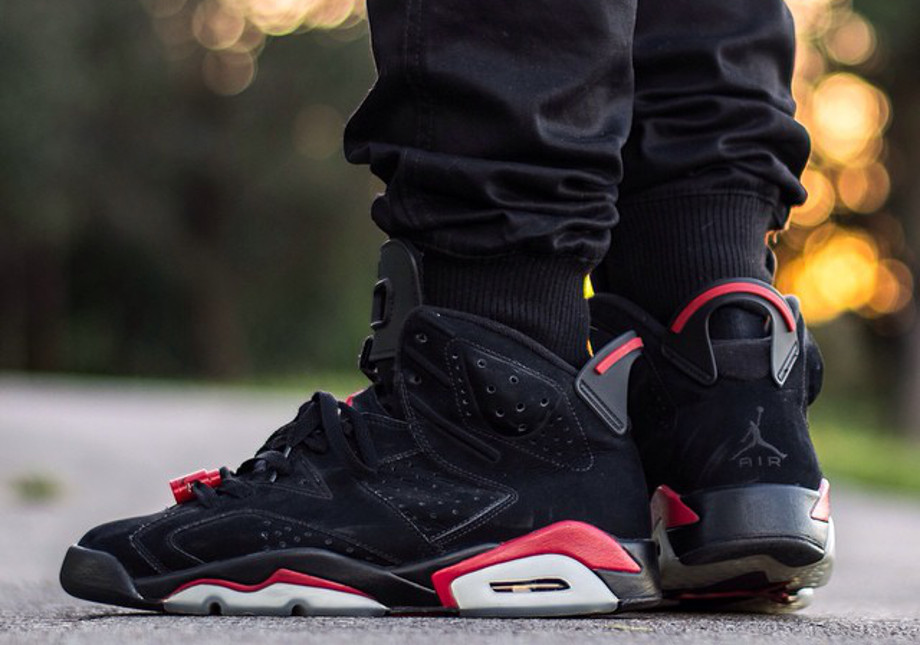 Air Jordan 6 Black Infrared - instaaagrant-1