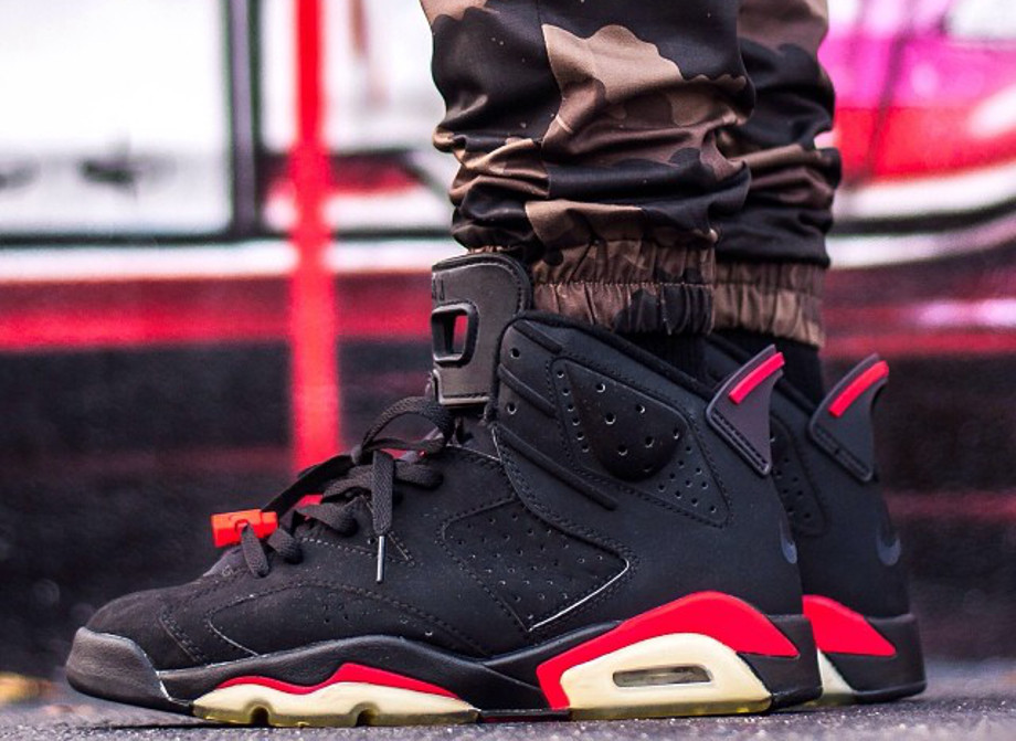 Air Jordan 6 Black Infrared - instaaagrant-3