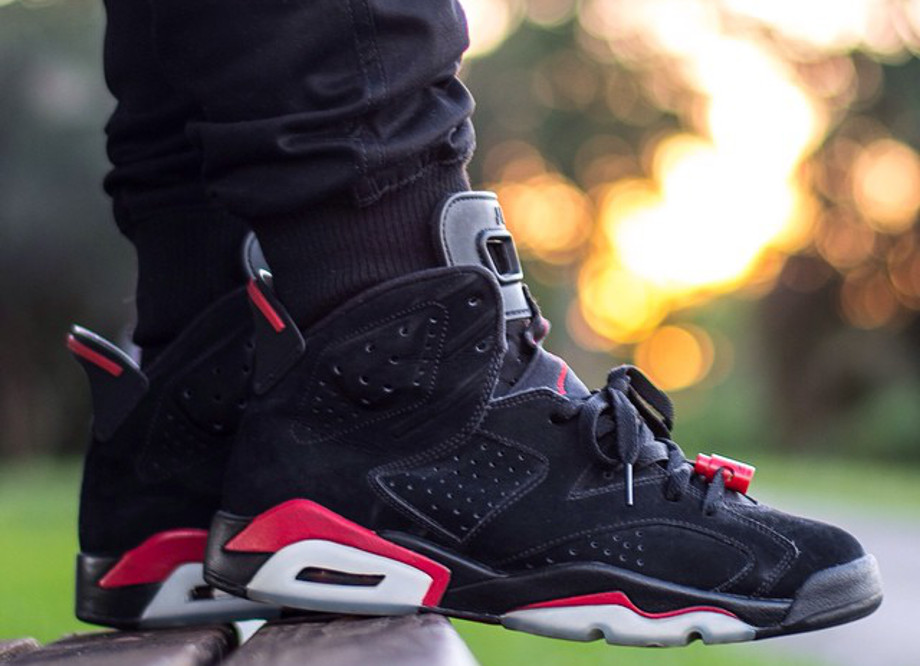 Air Jordan 6 Black Infrared - instaaagrant