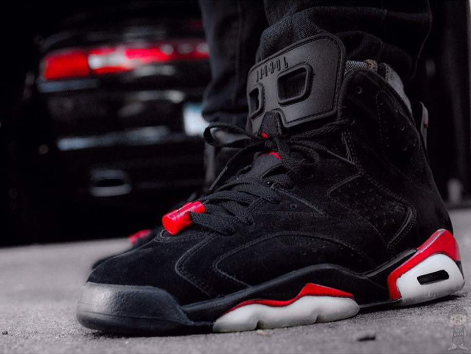 Air Jordan 6 Black Infrared - rancell