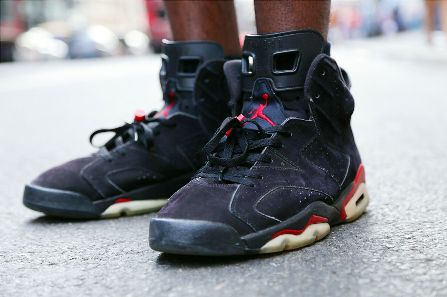 Air Jordan 6 Black Infrared - sneakerheadfamous