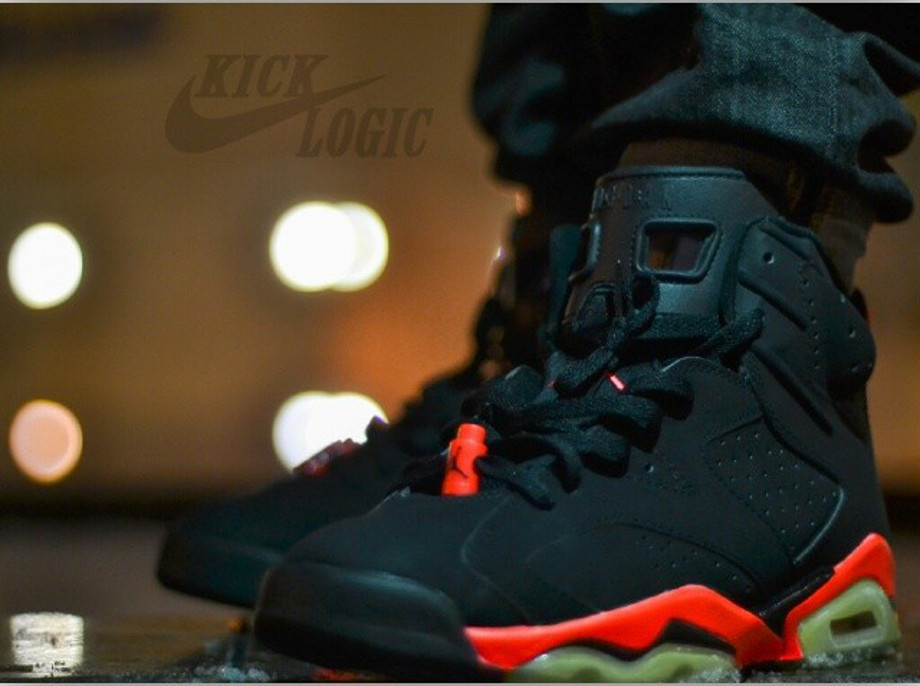 Air Jordan 6 Infrared - Kick_logic