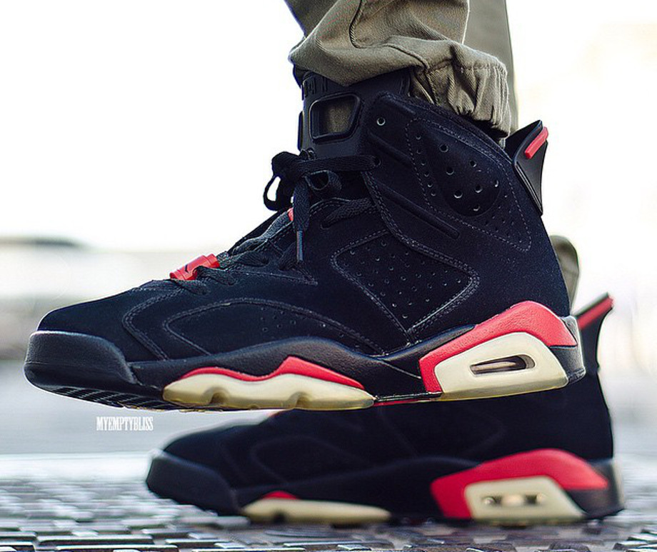 Air Jordan 6 Infrared - Myemptybliss