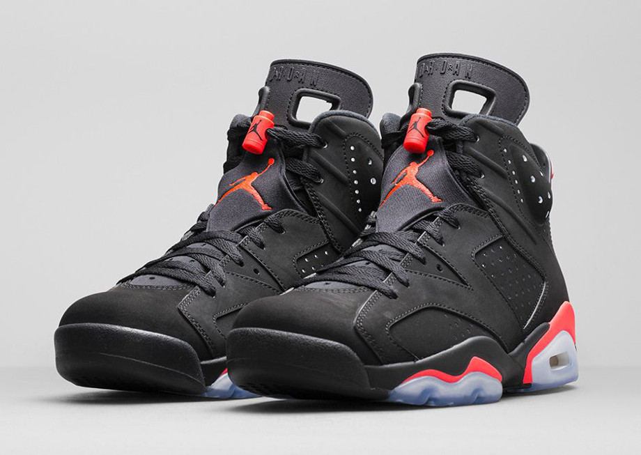 Air Jordan 6 Retro Black Infrared 23 (5)