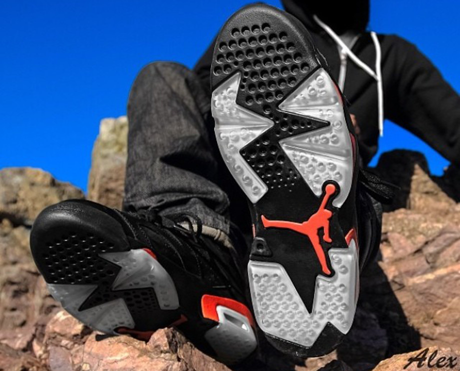 Air Jordan 6 black Infrared - _alex_sf