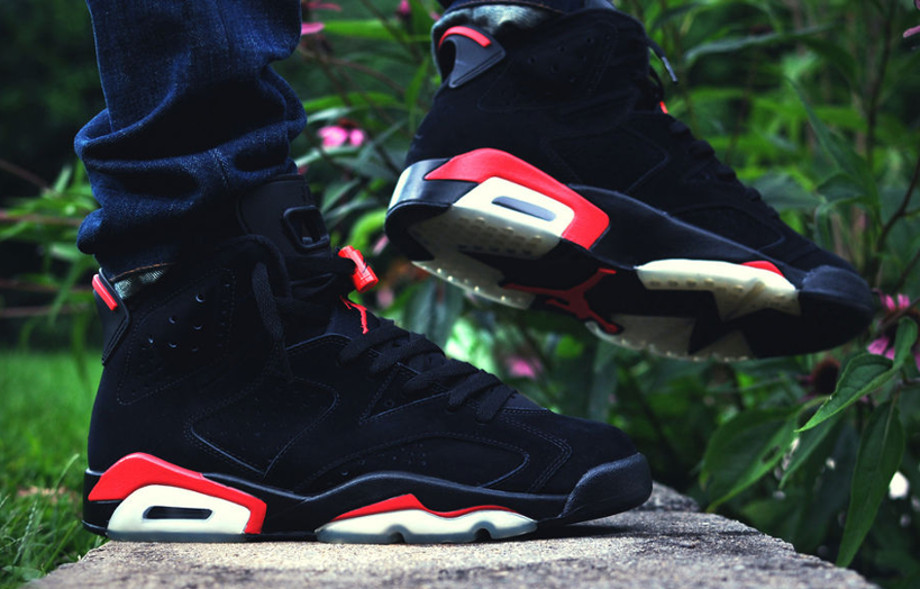 Air Jordan 6 black Infrared - _dalesc