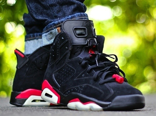 Air Jordan 6 black Infrared - bpsp23