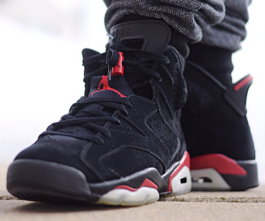 Air Jordan 6 black Infrared - jlin1314-1