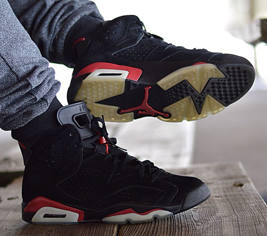 Air Jordan 6 black Infrared - jlin1314