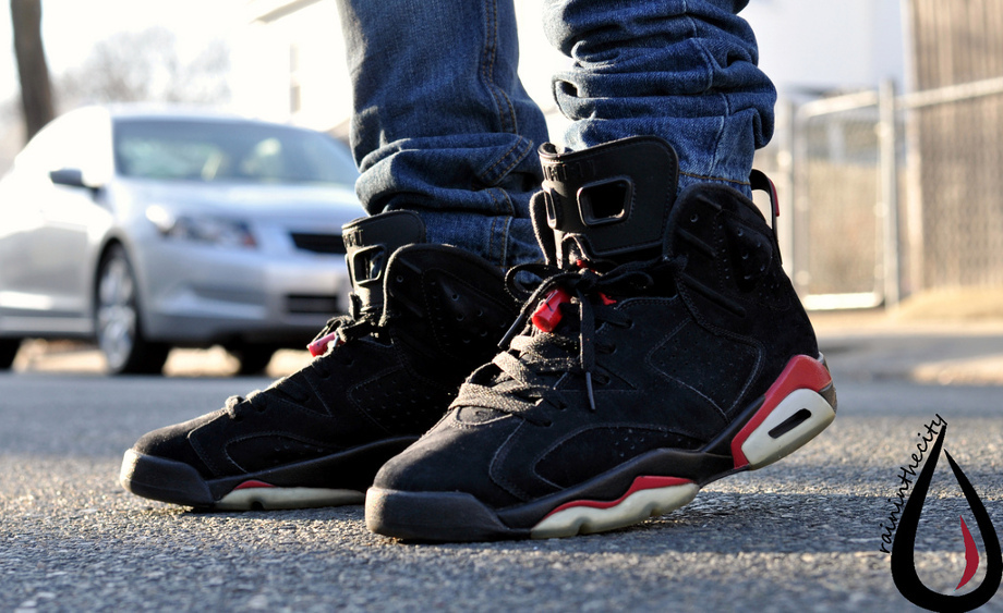 Air Jordan 6 black Infrared - neku serizawa
