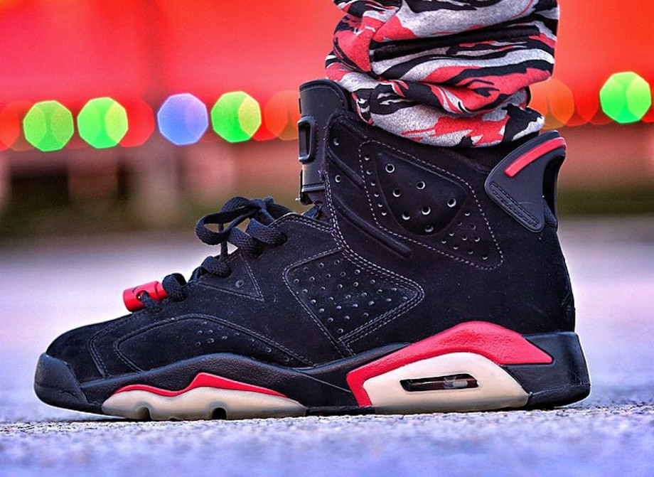 Air Jordan 6 black Infrared - uptown2k