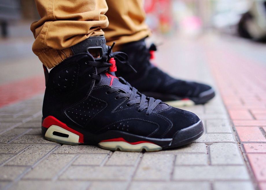 Air Jordan 6 black Infrared - whyescray
